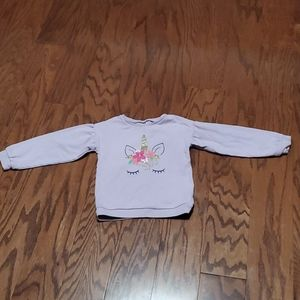 Carters unicorn sweater